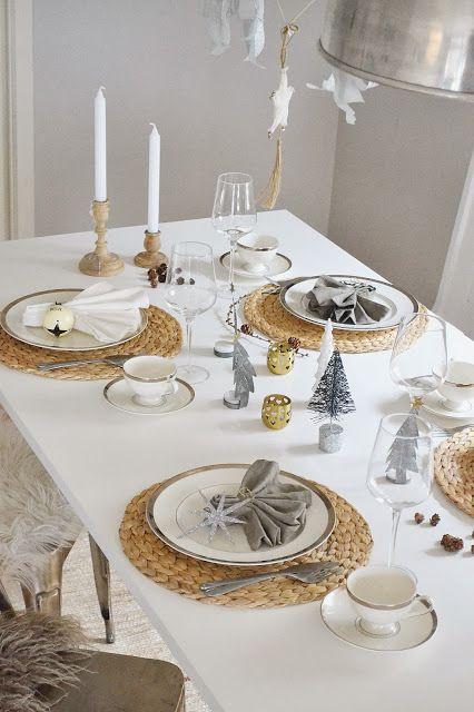 Hogar diez 10 ideas para una mesa de navidad elegante for Mesa de navidad elegante