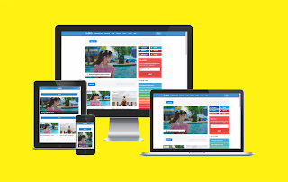 In SEO Pro Responsive Blogger Template (Grid Style No Featured)