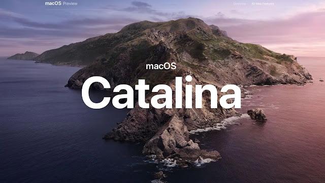 macOS Catalina Desktop