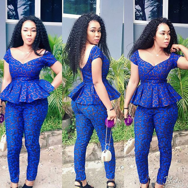Unique Ankara Top And Trouser Styles You Can Wear For