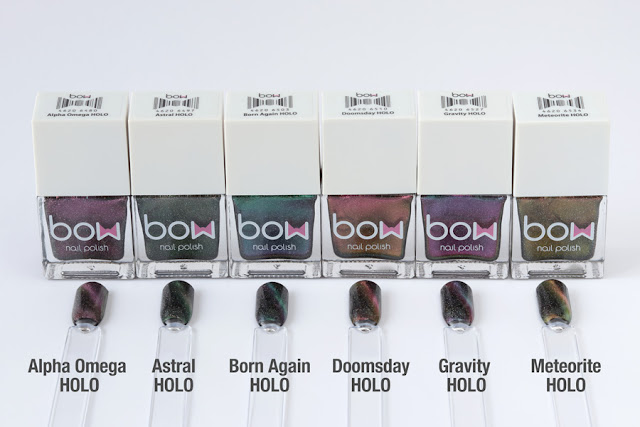 Bow Nail Polish - Magnetic Chameleon Collection