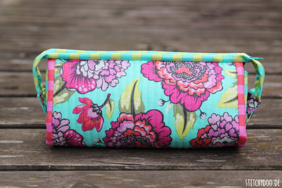 stitchydoo: Sew Together Bag aus knalligen Tula Pink Stoffen
