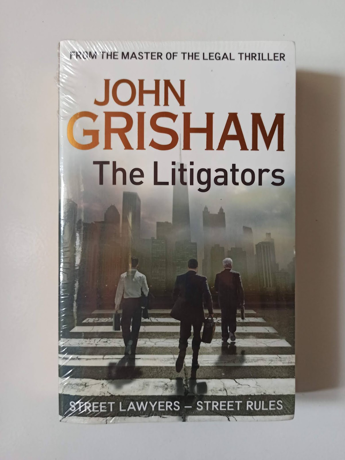 Novel Import The Litigators