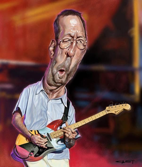 Eric Clapton por Sebastian Cast
