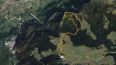 GPS Pizzo di Levico Cima Vezzena