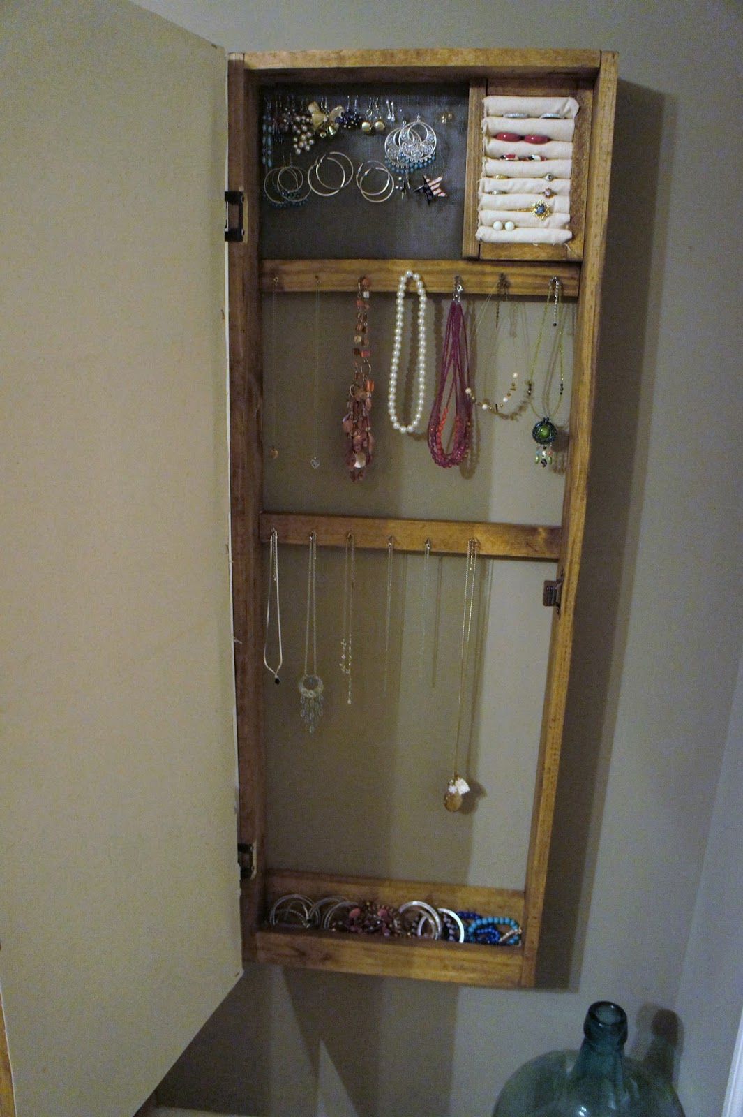 The Alabama Wife Mirror Jewelry Armoire