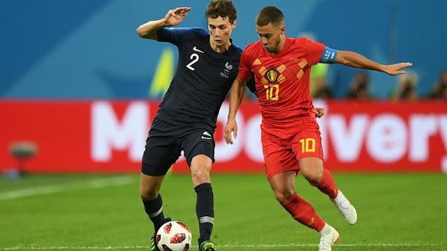ملخص مباراة فرنسا وبلجيكا الثلاثاء 10/7/2018 في كأس العالم روسيا 2018