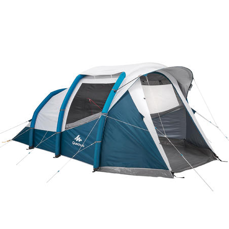 Quechua Inflatable tent Air Seconds 4.1 for 4 man and 1 bed room