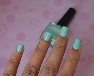 Favorite Summer Pastel Nail Polish Colors Recommendations  Nykaa Mint Meringue