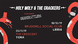 Holy Moly & The Crackers + Snakerattlers - York