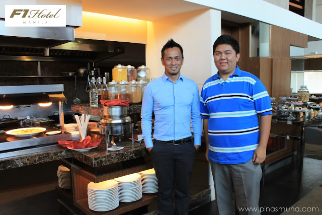 F1 Hotel Manila Executive Chef Sau del Rosario