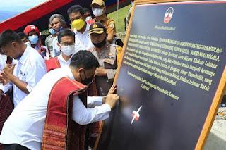 Bupati Samosir Buka Festival Wisata Edukasi Leluhur Batak dan Resmikan Situs Parhutaan Ompung Tuan Sorimangaraja