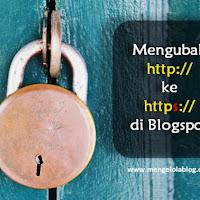 Cara mengubah http menjadi https di blog blogspot