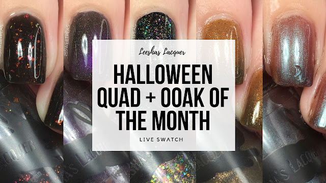 Leeshas Lacquer Halloween Quad