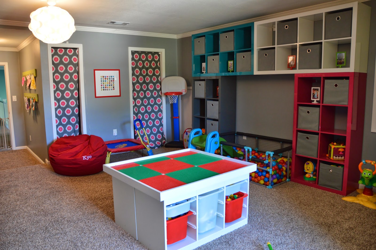 the journey of parenthood tour of our home playroom. Black Bedroom Furniture Sets. Home Design Ideas