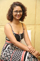 Actress Aditi Myakal Looks gorgeous in Sleeveless Deep Neck Top at Ami Tumi success meet ~  Exclusive 073.JPG