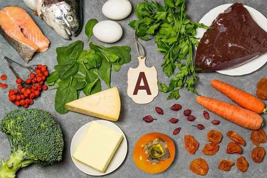 sumber vitamin A terdapat pada buah-buahan sayuran dan makanan