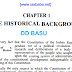 The Historical Background of India by DD Basu pdf Book Download