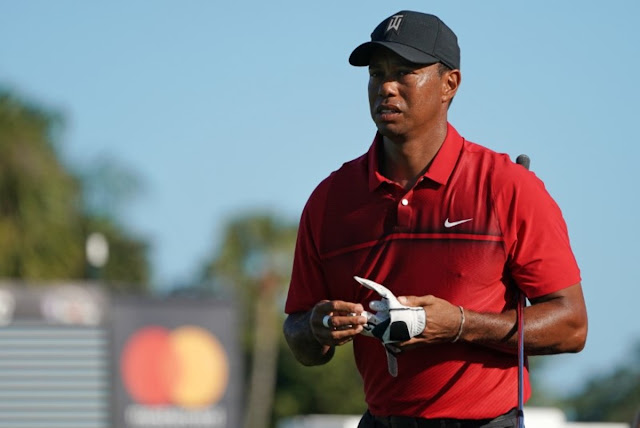 Tiger Woods sofre acidente