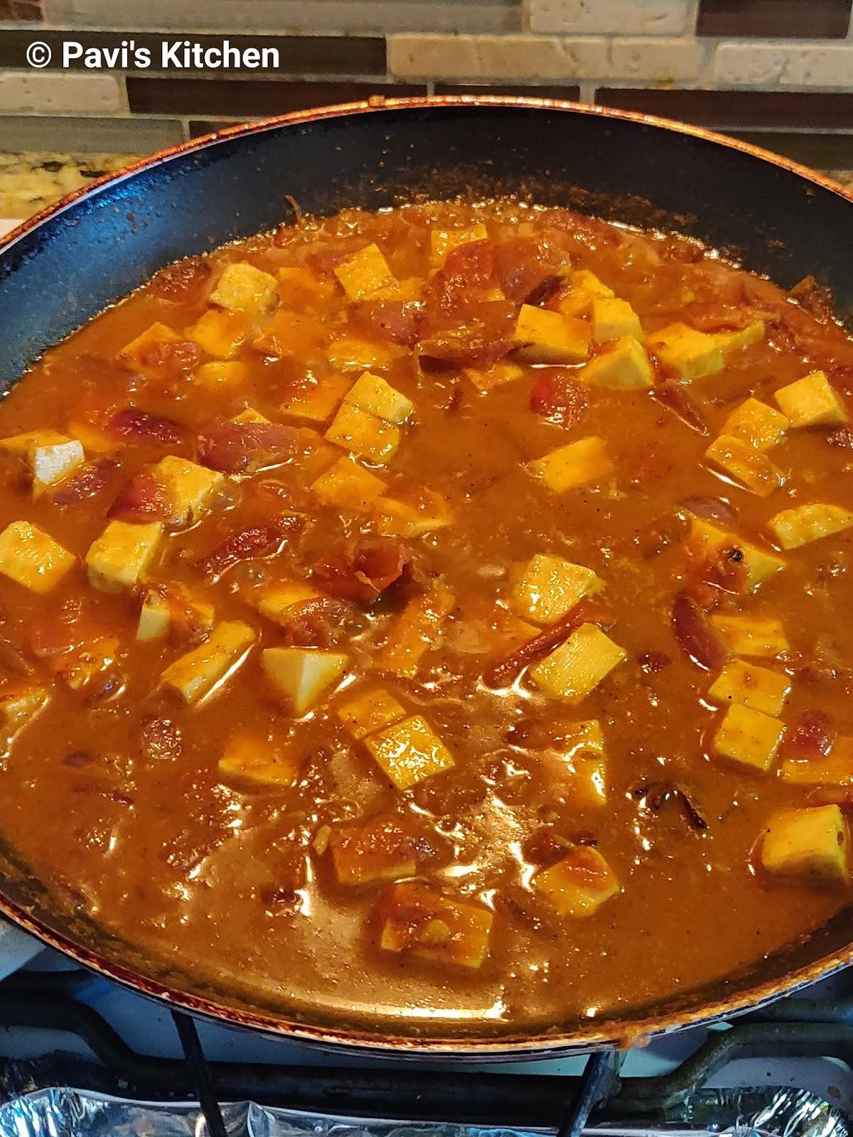 Homestyle Paneer Subzi / Healthy Indian Paneer Subzi