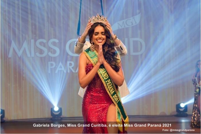Gabriela Borges,  Miss Grand Paraná