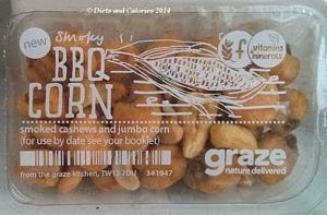 Graze snack box: Smoky BBQ Corn
