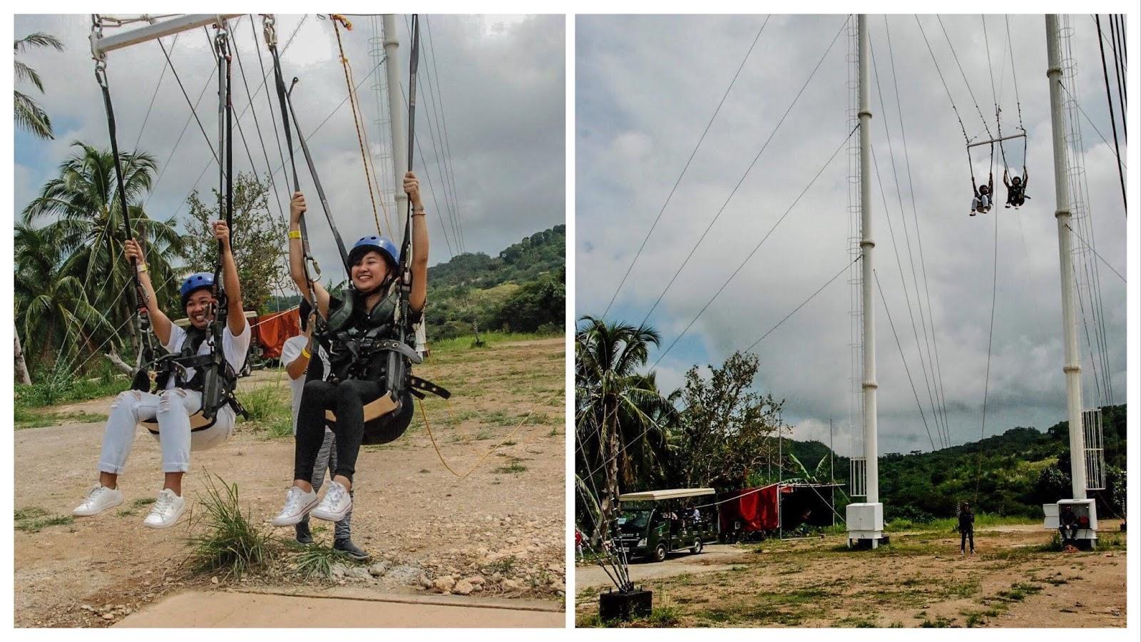 Cebu Safari Adventure Rides Giant Swing