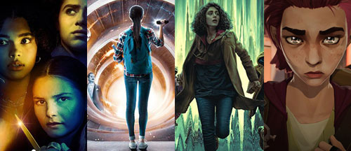 new-series-trailers-girl-in-the-woods-just-beyond-invasion-arcane