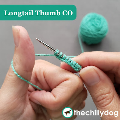 Longtail CO Knitting Tutorial: Skip the slingshot position and learn the thumb version of the longtail CO