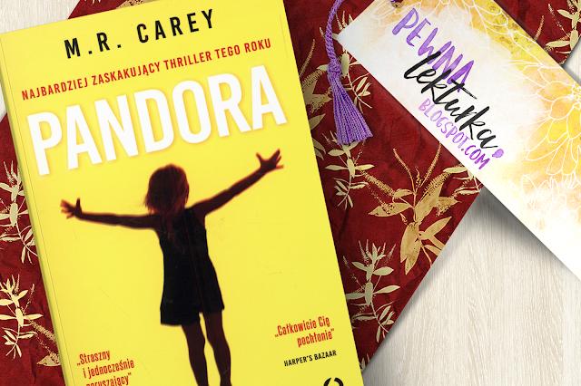Pandora - M.R. Carey - recenzja pewnalekturka