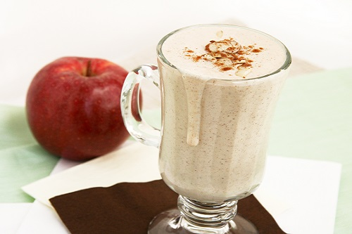 How to make smoothie apples and delicious almonds