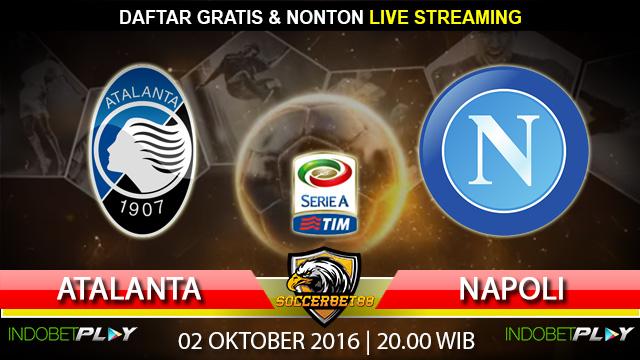 Prediksi Atalanta vs Napoli 02 Oktober 2016 (Liga Italia)