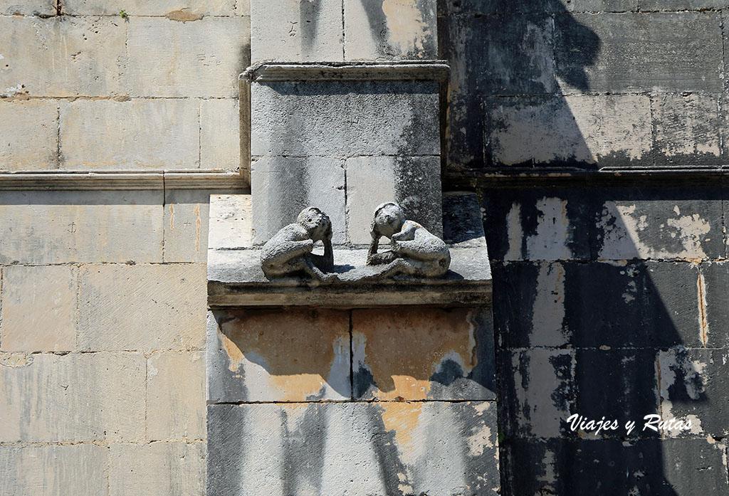 Detalle de la fachada del Monasterio de Batalha
