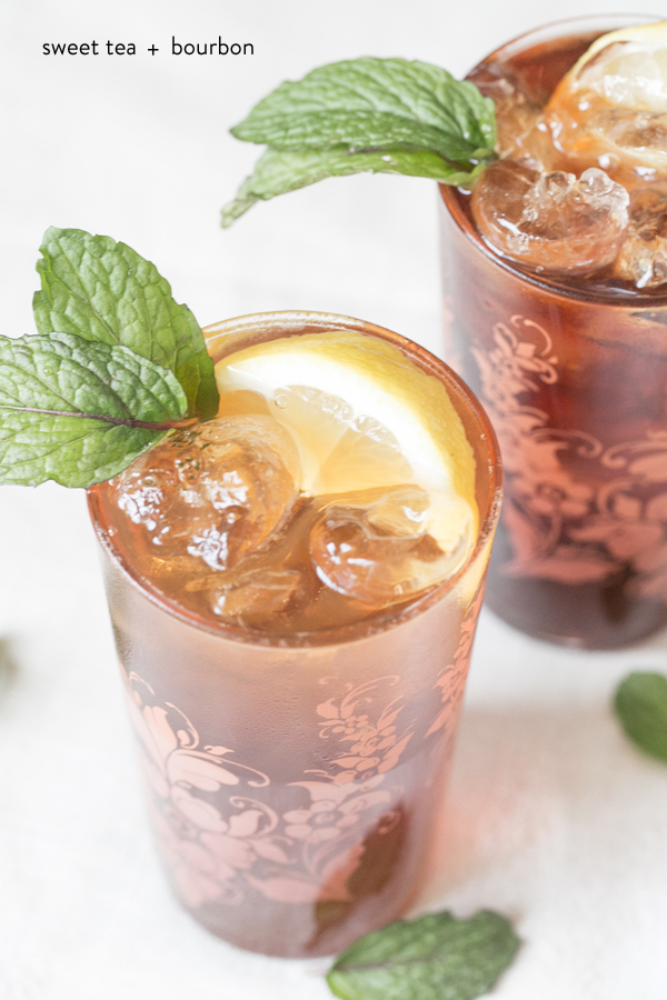 Sweet Tea and Bourbon | Sugar and Charm