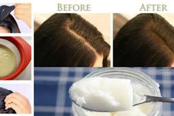 Tebalkan Rambut Tipis dalam Semalam dengan Tiga Bahan Ini
