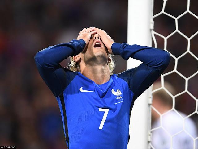 34 tiros a puerta no ayudaron a Francia a marcar un solo gol a Luxemburgo y pierden su ventaja en la eliminatoria de Europa