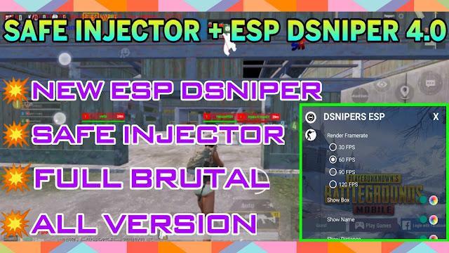 ESP CHEAT SNIPER + INJECTOR 4.0 PUBG MOBILE 1.1.0 KR/GL/VNG/TW - HƯỚNG DẪN HACK PUBG MOBILE 1.1.0 - HQT HACKING