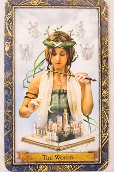 Mother Tarot - Wizards Tarot - The World