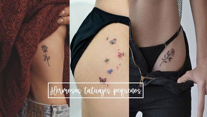 9 Ideas de tatuajes chiquitos y muy sexys ¡que te encantarán!