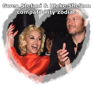 Gwen Stefani and Blake Shelton compatibility love zodiac