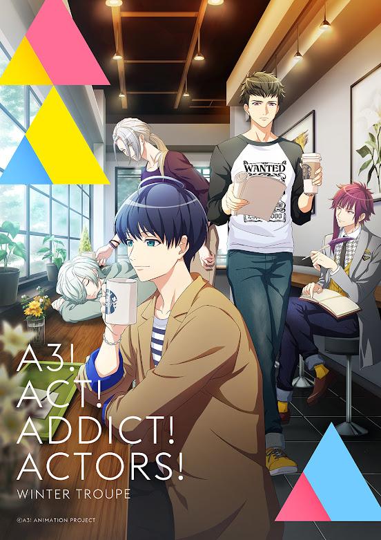 Anime: Confirmada fecha de estreno y imágen promocional de A3! Season Autumn & Winter