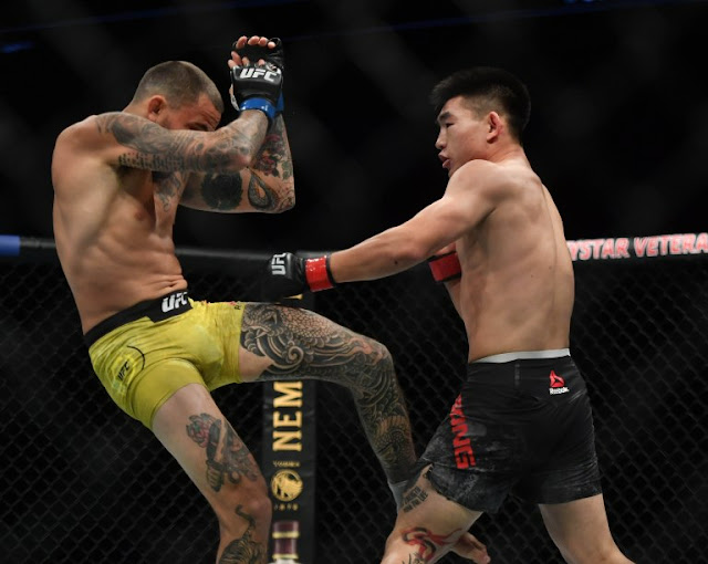 Song Yadong pushes Marlon Vera UFC on ESPN 8