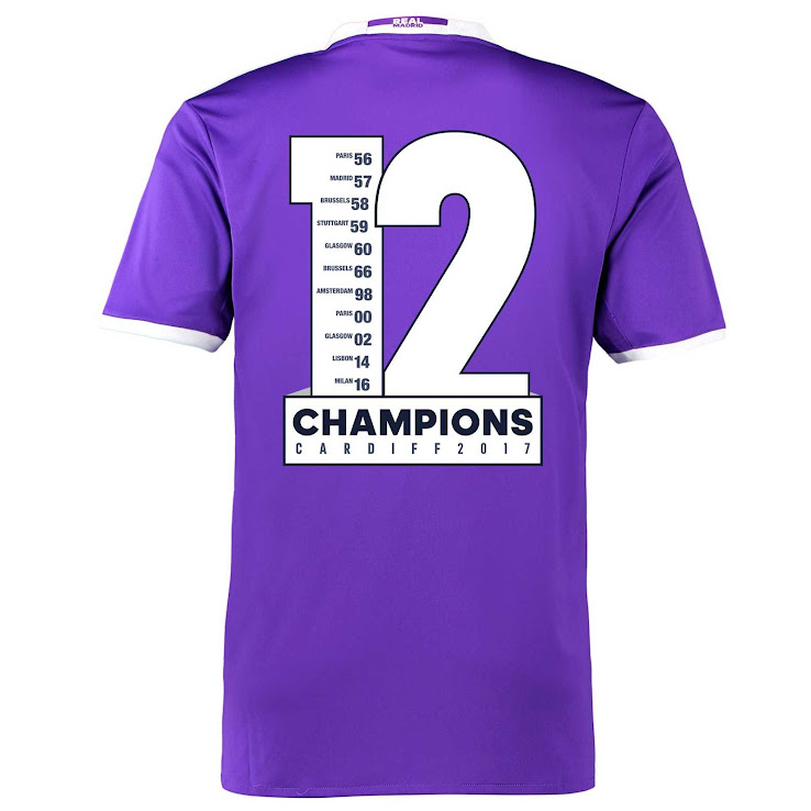 Camiseta Real Madrid duodécima