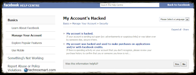 Facebook Account Hacked Via Third Party Sources On Twitter, Instagram