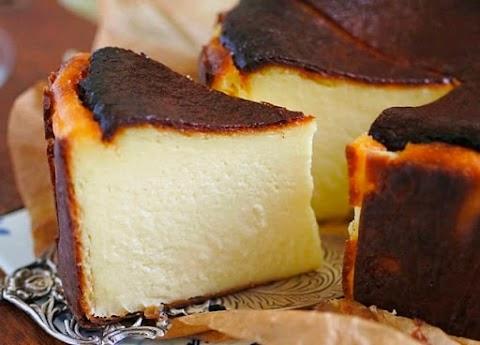 Resipi Basque Burnt Cheesecake mudah dan cepat, buat sendiri lagi jimat!