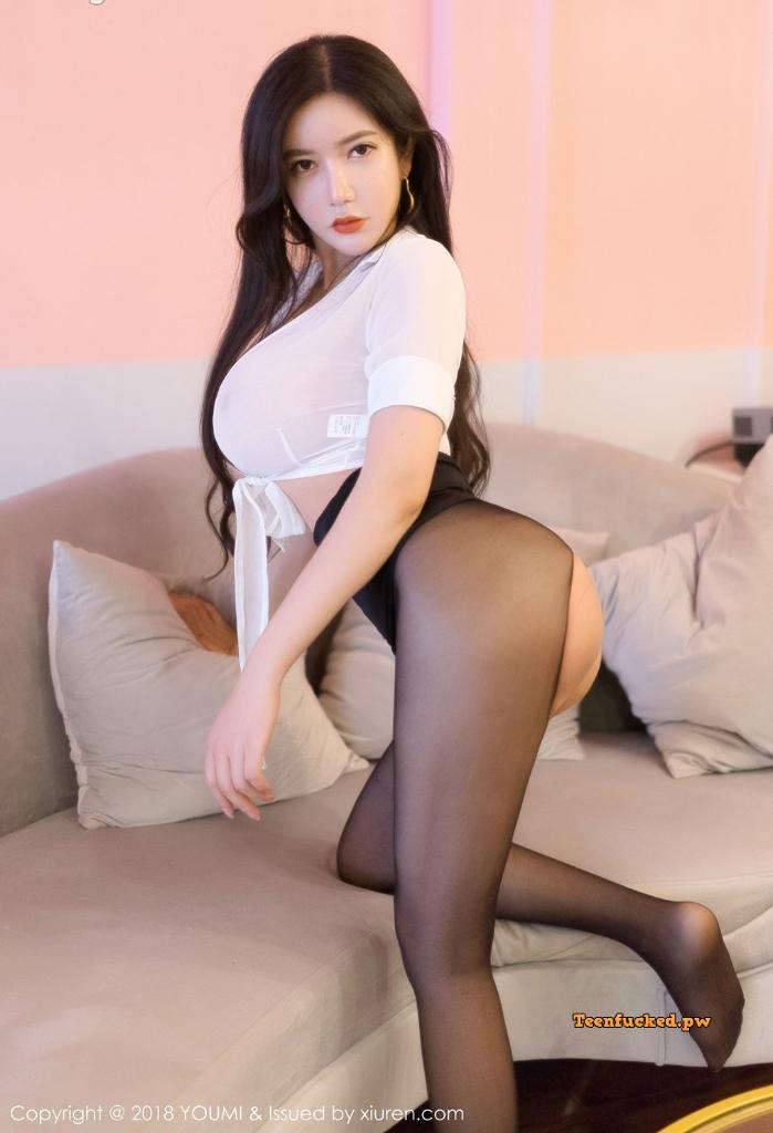 YouMi Vol.222 MrCong.com 029 wm - YouMi Vol.222: Người mẫu 心妍小公主 (45 ảnh)