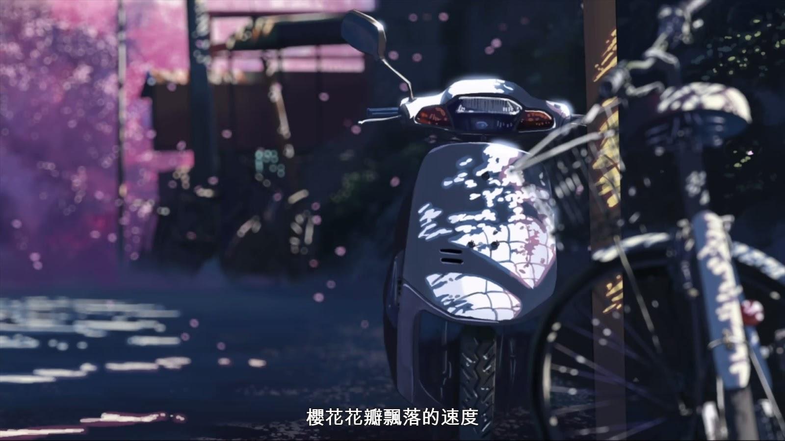 影評 心得 新海誠 櫻花 電影