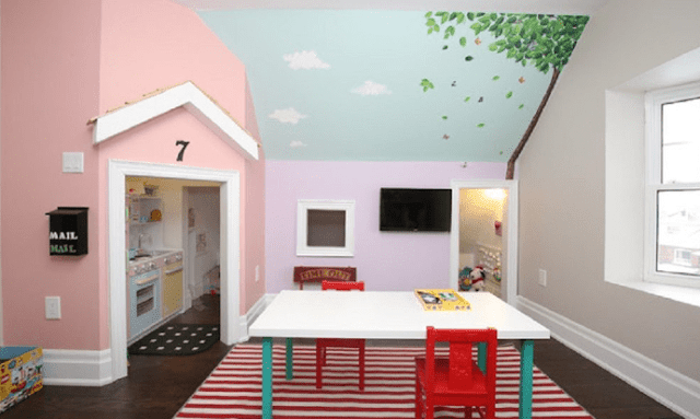 Furniture: Kids Payroom Ideas Arrange and Decorate
