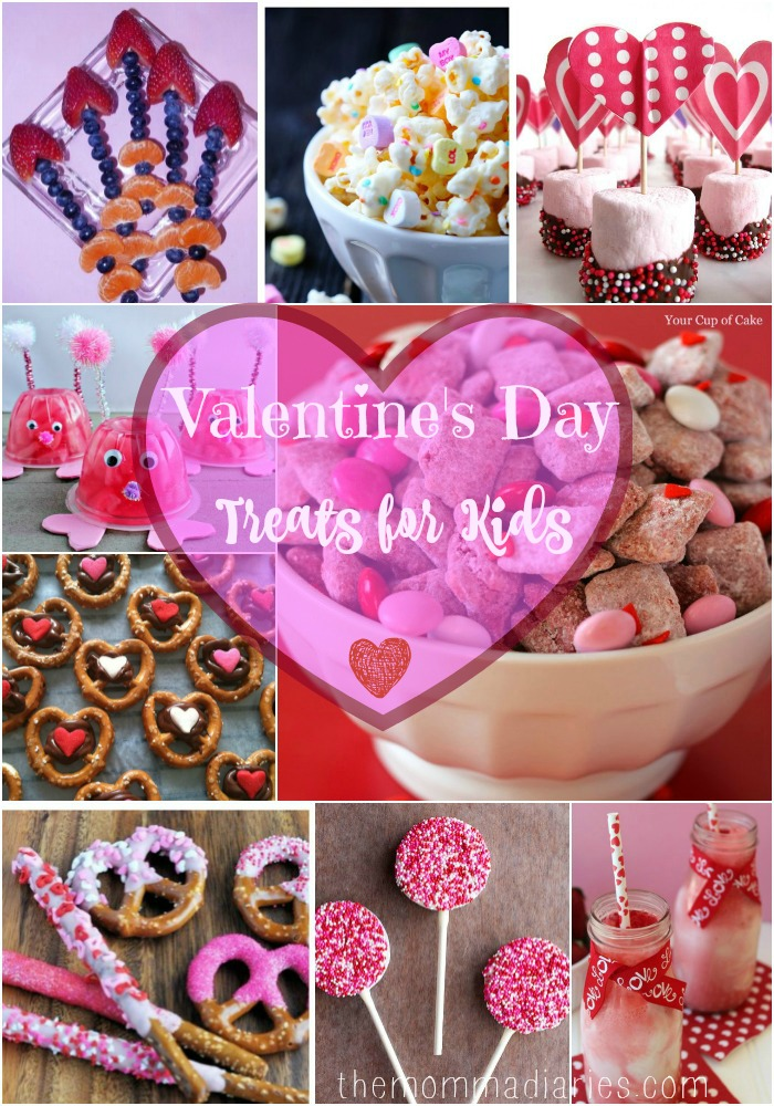 Valentine S Day Treats For Kids The Momma Diaries