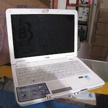 jual laptop bekas benq joybook s32